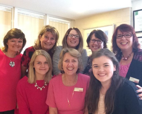 Adams Harrison Sawston Team Support Wear It Pink