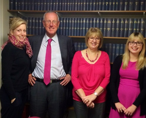 Adams Harrison Haverhill Team Support Wear It Pink