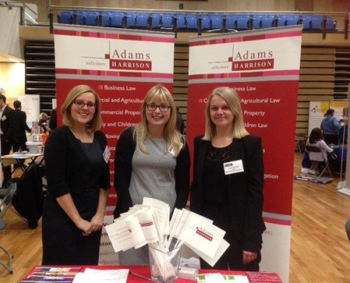 Emma Laidlaw, Leanne Mayes and Lisa Thornhill of Adams Harrison