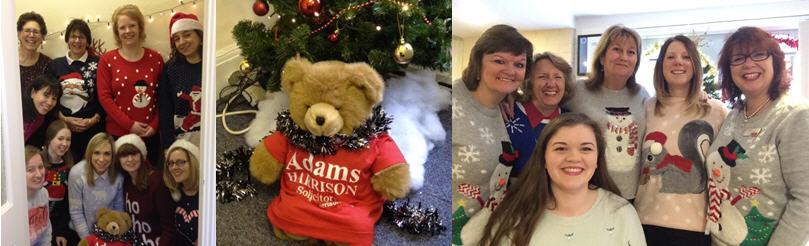 Adams Harrison Christmas Jumper Event 2014