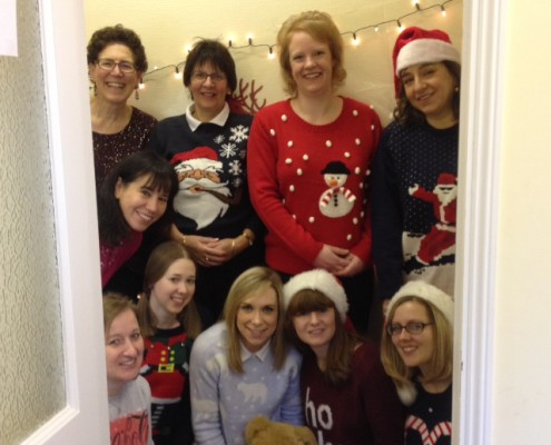 Adams Harrison Saffron Walden Christmas Jumper Event