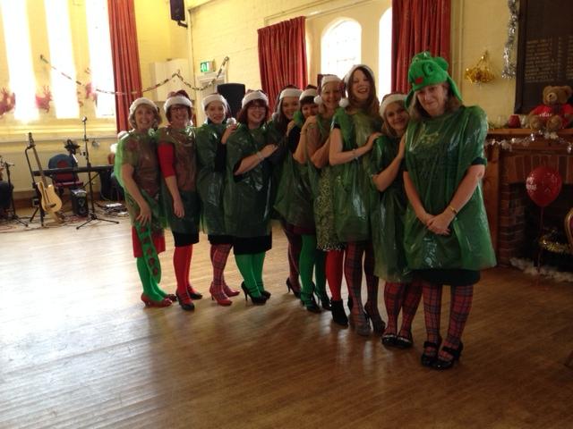 Adams Harrison Fancy Dress Event Dec 2014
