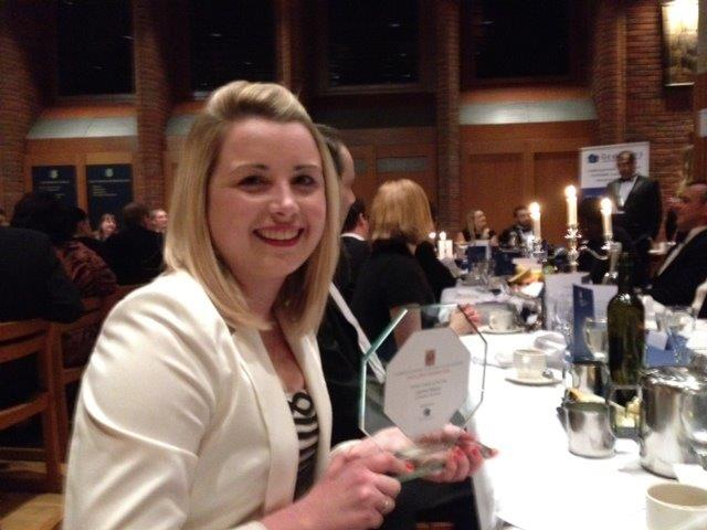 Leanne Mayes Adams Harrison Trainee Lawyer Of The Year