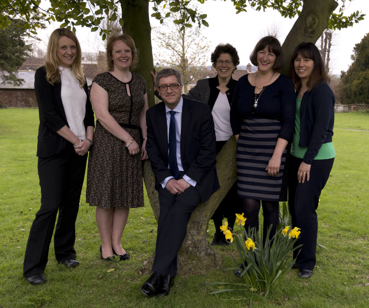 Adams Harrison Partners From Left To Right Frances Walker, Jennifer Carpenter, Rhodri Rees, Shoshana Goldhill, Tracy Spilsbury and Melanie Pratlett