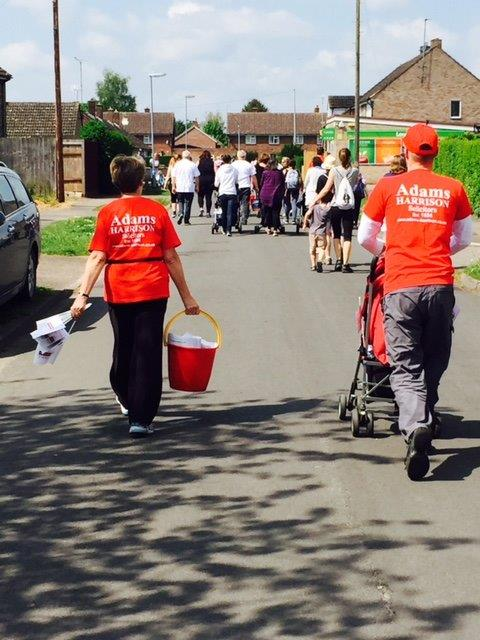 Adams Harrison Team Supporting the Sawston Fun Run 2016 02