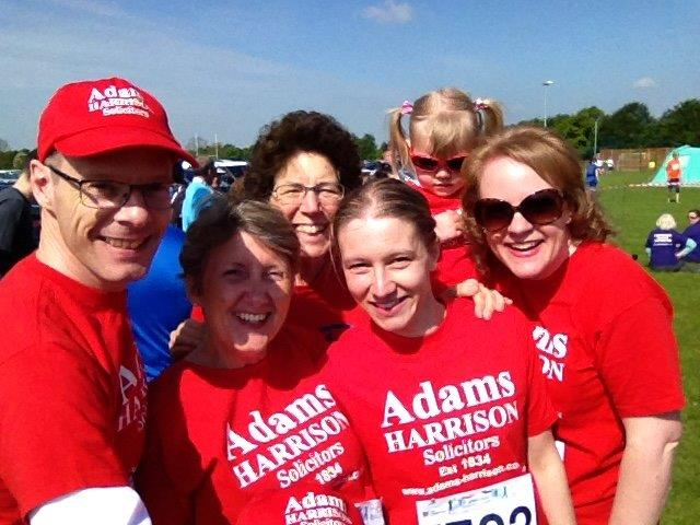 Adams Harrison Team Supporting the Sawston Fun Run 2016 04
