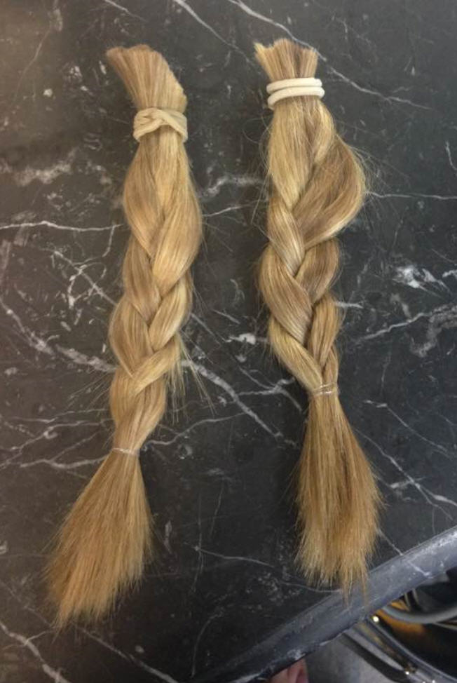 Hayley Fords Hair Donated to Little Princess Trust