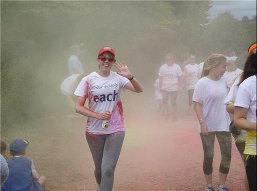 Rebecca Monk in EACH Fun Run 2016