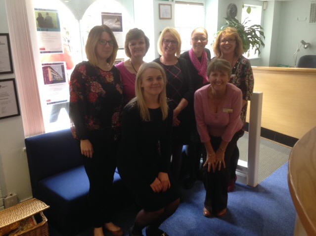 Adams Harrison Support Wear It Pink Day 2016