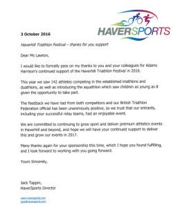 haverhill-triathlon-adams-harrison-thank-you-letter
