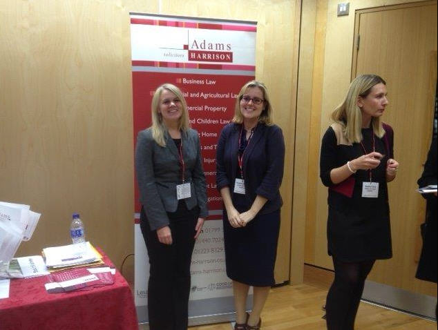 Lisa Thornhill, Emma Laidlaw and Hayley Ford at Uttesford Schools Careers Fair