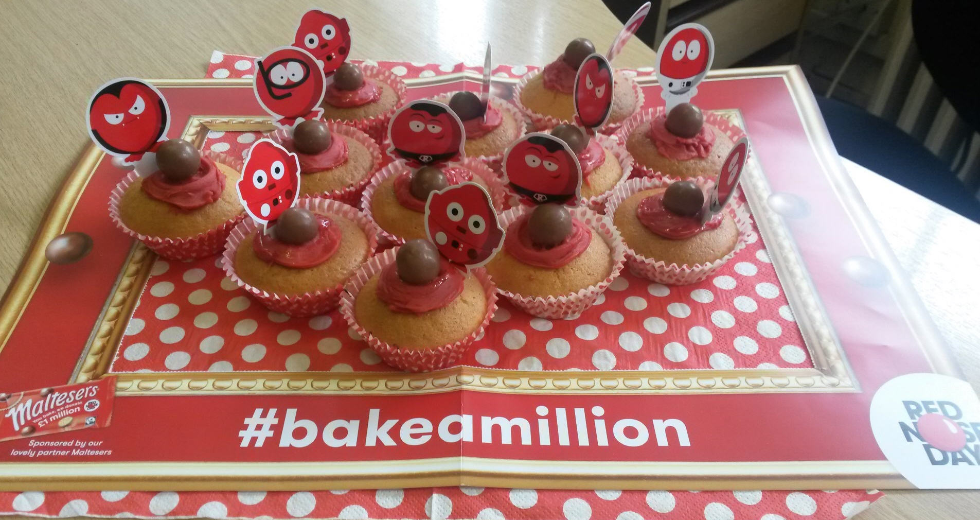 Adams Harrison Baking For Red Nose Day 02