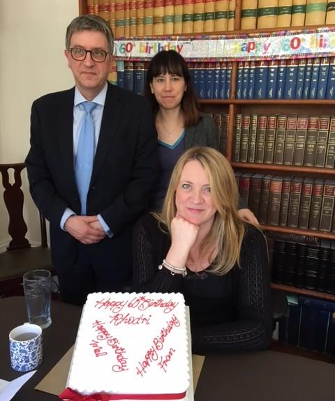 Rhodri Rees,Melanie Pratlett and Frances Walker. Adams Harrison Partners