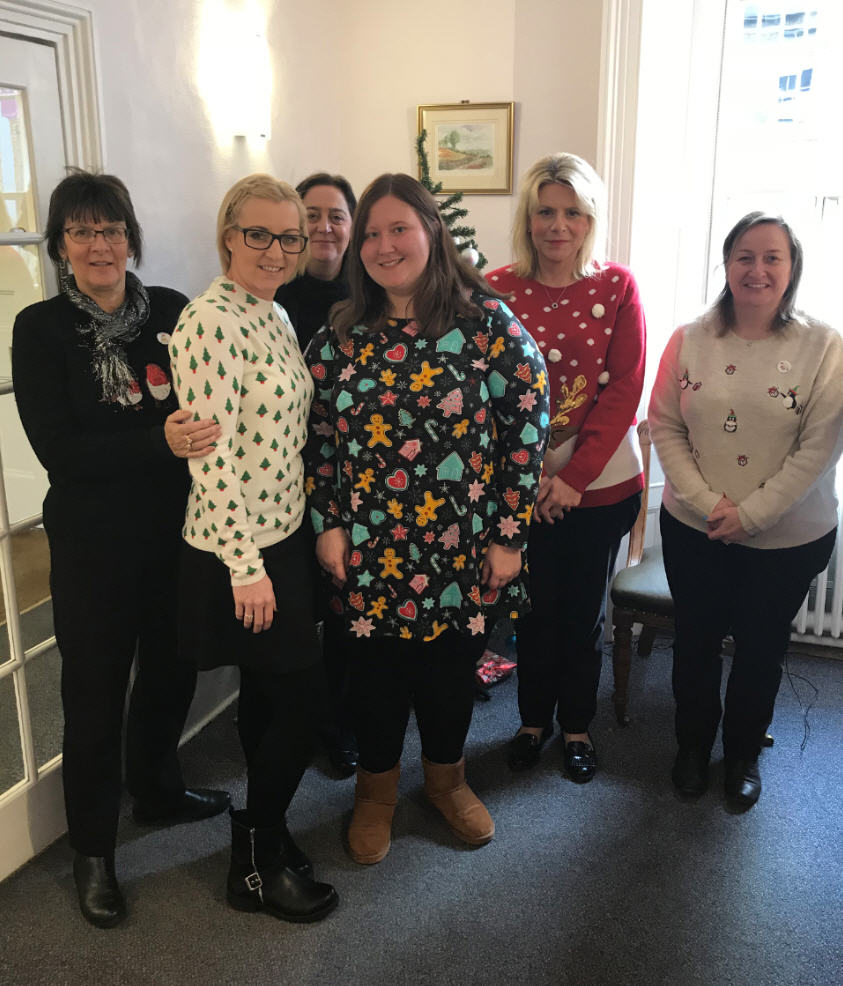 Adams Harrison Support Christmas Jumper Day 2017