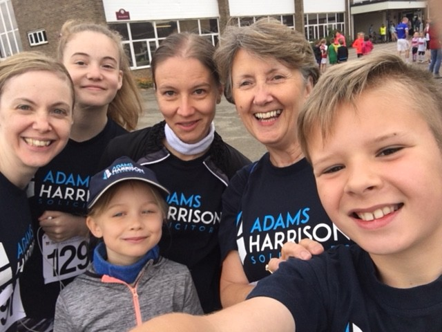 Team From Adams Harrison Sawston Fun Run 2018