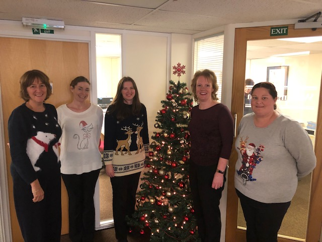 Adams Harrison Haverhill Christmas Jumper Day 2018