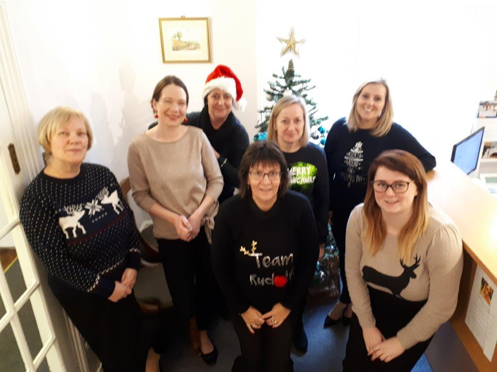 Adams Harrison Saffrom Walden Christmas Jumper Day 2018 v2