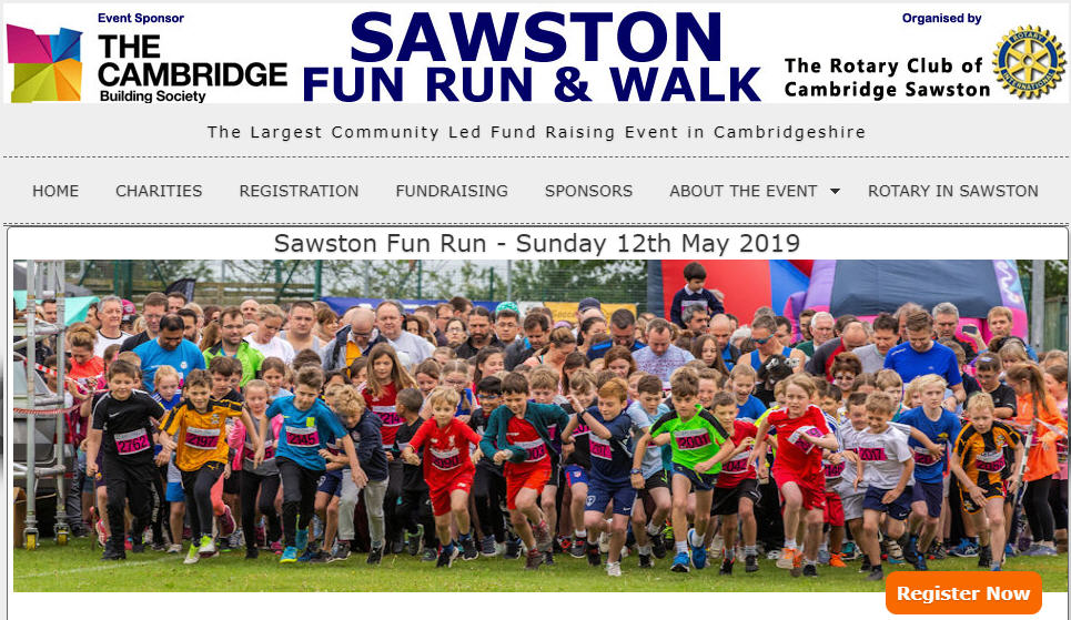 Sawston Fun Run 2019