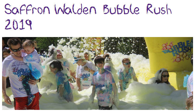 EACH Saffron Walden Bubblerush 2019