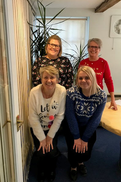 Adams Harrison Christmas Jumper Event Sawston Office Dec 2019