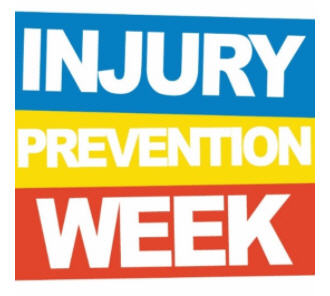 Injury Prevention Week Logo